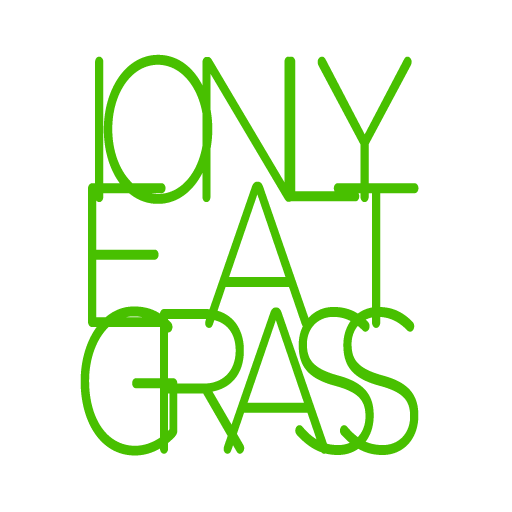 I Only Eat Grass